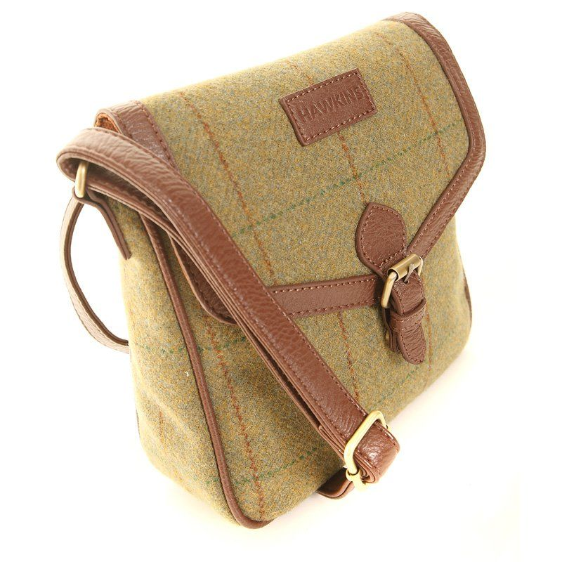 5f4606fb5b36 Hawkins Tweed cross body bag available to hold